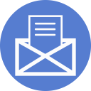 Election Letter Outline icon