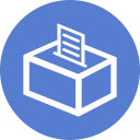Election Polling Box 04 Outline icon