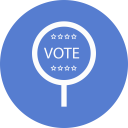 Election Vote 2 Outline icon