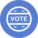 Election Vote Outline icon