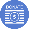 Election-Donate-Outline icon