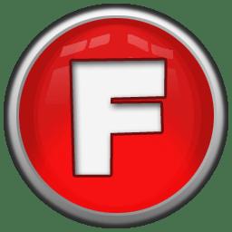 Letter F icon