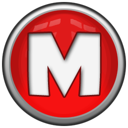 Letter M Icon Red Orb Alphabet Iconset Icon Archive