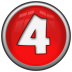 Number-4 icon