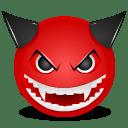 Devil mad icon