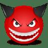 Devil-laught icon