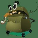 Angry Trash icon