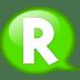 Speech-balloon-green-r icon