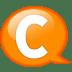 Speech-balloon-orange-c icon