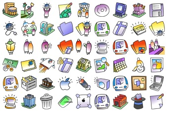 Eworld 2000 Icons