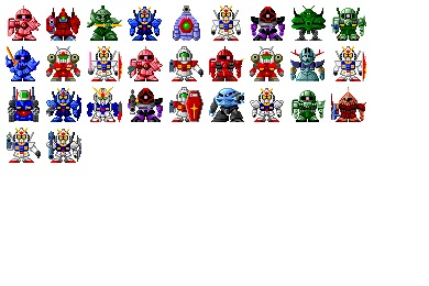 SD Gundam Icons