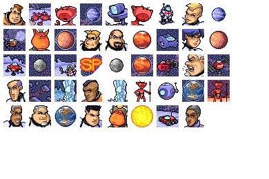 Solar Patrol Icons