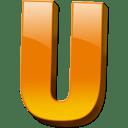 Letter u icon