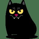 Cat-vampire icon