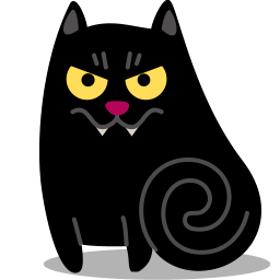 Cat vampire icon