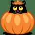 Cat-pumpkin icon