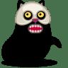 Cat-skull icon
