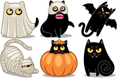 Halloween Cat Icons