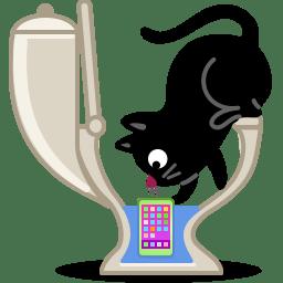 Cat phone icon