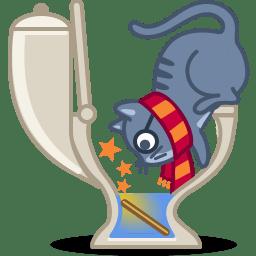 Cat wizard icon