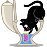 Cat-phone icon
