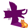 Cat-shadow-fly icon