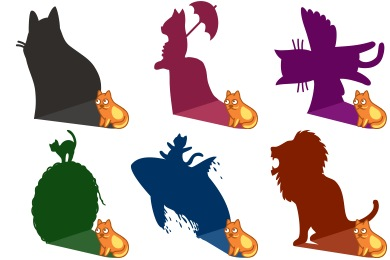 Cat Shadows Icons