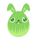 Green sad icon