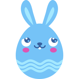 Blue blush icon