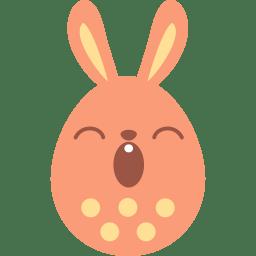 Red sleepy icon