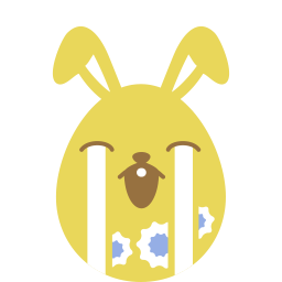Yellow cry icon