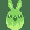Green-cute icon