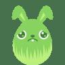 Green-sad icon