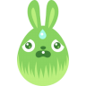 Green-scared icon