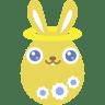 Yellow-angel icon