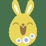 Yellow-happy icon