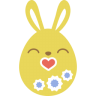 Yellow-kiss icon