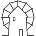 Greece-windmill icon