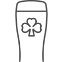 Irish beer icon