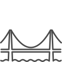Sanfrancisco bridge icon