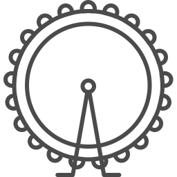 London wheel icon