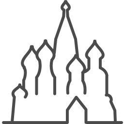 Moscow basil icon