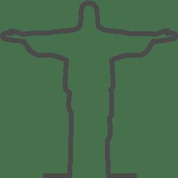 Rio christ icon