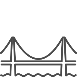 Sanfrancisco bridge icon