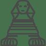 Egypt-sphynx icon