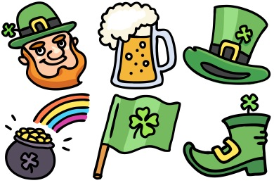 Lucky Leprechaun Icons