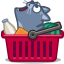 Cat cart icon
