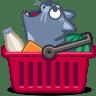 Cat-cart icon