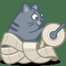 Cat-paper icon