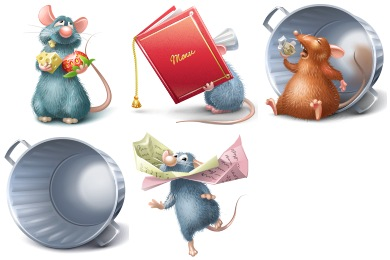 Ratatouille Icons
